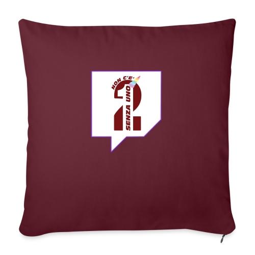 Logo Twitch - Cuscino da divano 44 x 44 cm con riempimento