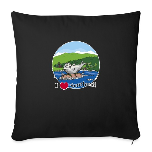 I heart Scotland - Sutherland & Caithness - Sofa pillow with filling 45cm x 45cm