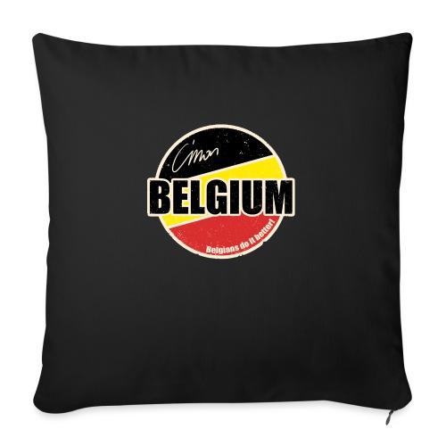 Cmon Belgium - Bankkussen met vulling 44 x 44 cm