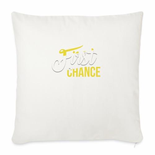 Logo Album First Chance - Coussin et housse de 45 x 45 cm