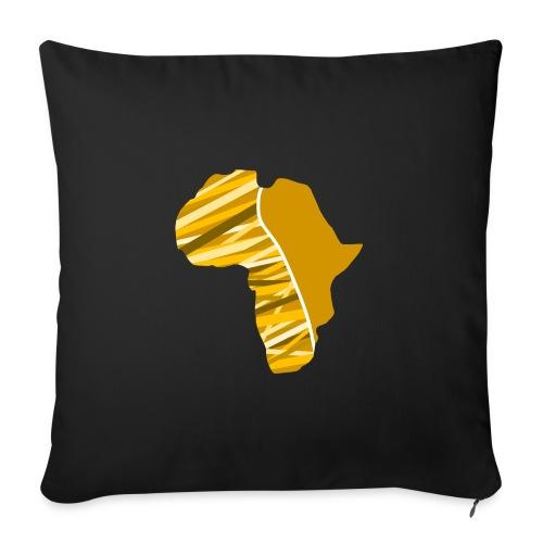 Buyela Africa Logo - Sofakissen mit Füllung 44 x 44 cm