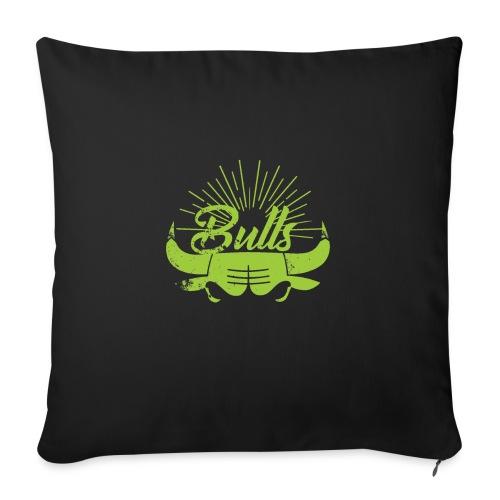 Toros verdes, Bulls BasketBall deporte - Cojín de sofá con relleno 44 x 44 cm
