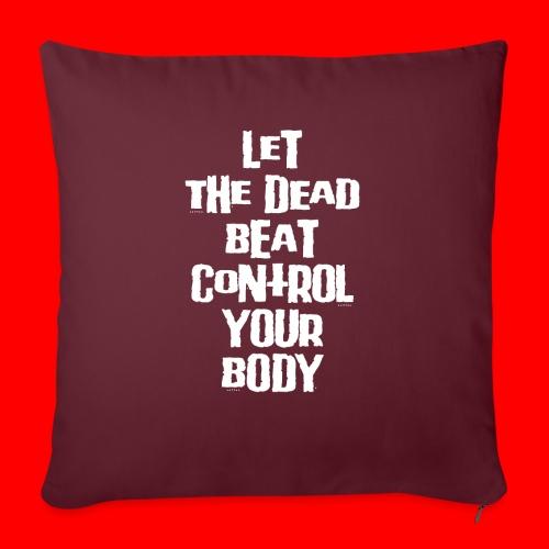 dead beat - Sofa pillow with filling 45cm x 45cm