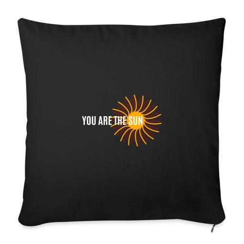 You Are the sun - Cojín de sofá con relleno 44 x 44 cm