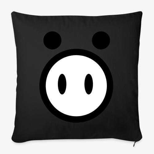 pig - Poduszka na kanapę z wkładem 44 x 44 cm