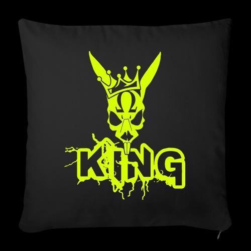 King Rabbit - Cuscino da divano 44 x 44 cm con riempimento