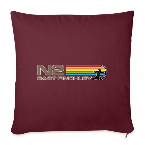 EF Spectrum 80s Software Style with 8 Bit Archer - Sofa pillow with filling 45cm x 45cm