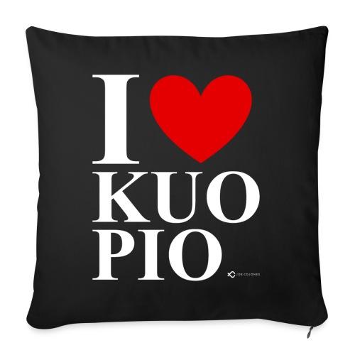 I LOVE KUOPIO ORIGINAL (valkoinen) - Sohvatyynyt täytteellä 44 x 44 cm