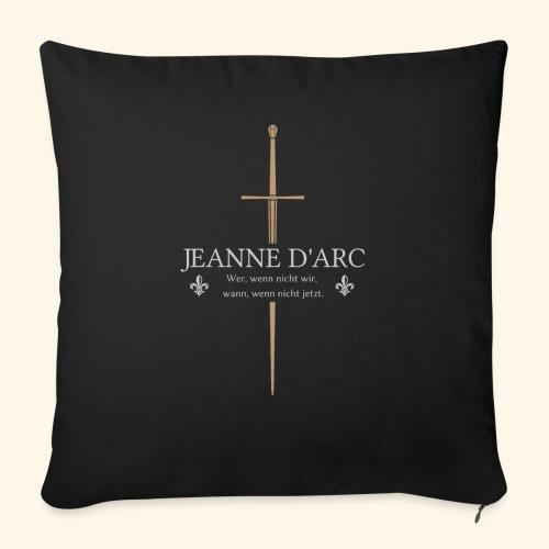 Jeanne d arc - Sofakissen mit Füllung 44 x 44 cm