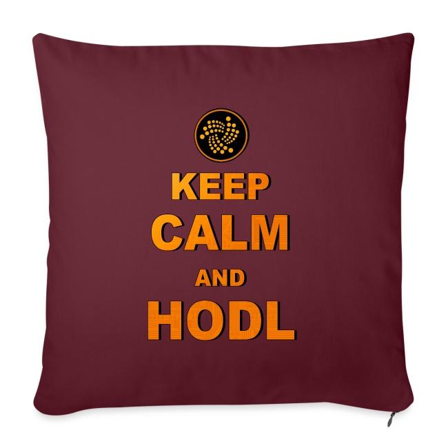 IOTA -keep calm and HODL