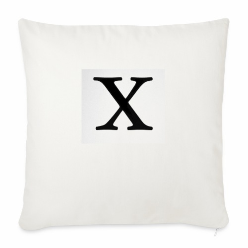 THE X - Sofa pillow with filling 45cm x 45cm
