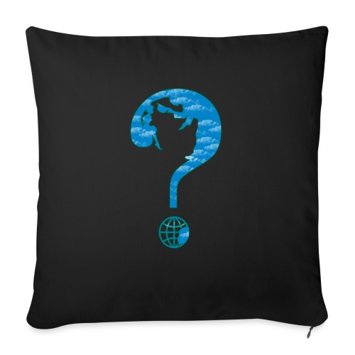What land awaits us - Sofa pillow with filling 45cm x 45cm