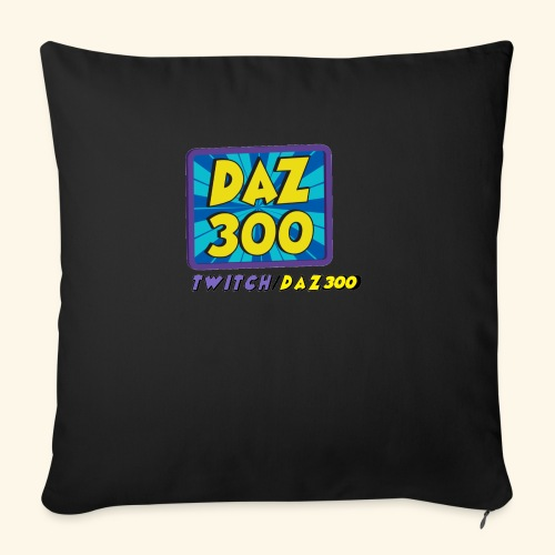 daz logo 2 0 - Sofa pillow with filling 45cm x 45cm