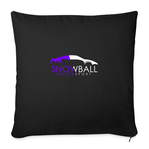 Snowball Motorsport - Sofa pillow with filling 45cm x 45cm