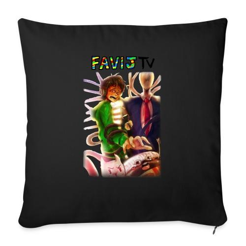 ShirtFinale png - Cuscino da divano 44 x 44 cm con riempimento