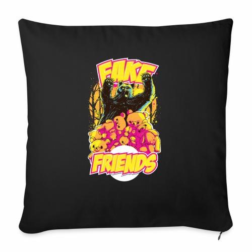 Fake Friends - Sofakissen mit Füllung 44 x 44 cm