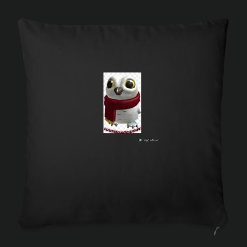 Merch white snow owl - Bankkussen met vulling 44 x 44 cm