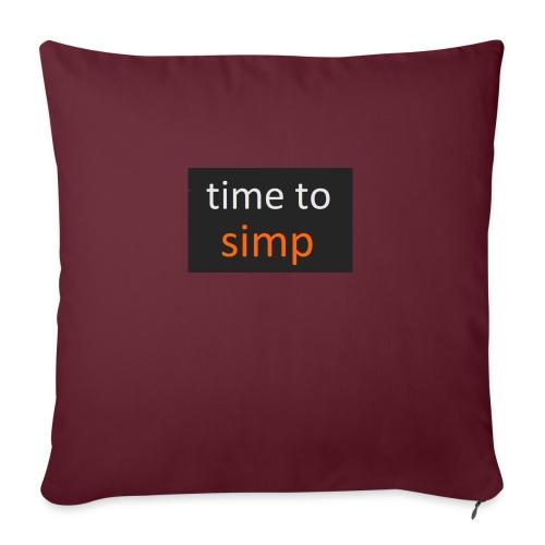 simping time - Bankkussen met vulling 44 x 44 cm