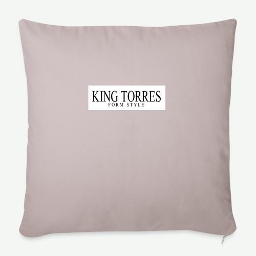 king torres - Cojín de sofá con relleno 44 x 44 cm