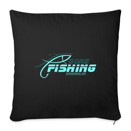 GONE-FISHING (2022) DEEPSEA/LAKE BOAT T-COLLECTION - Sofa pillow with filling 45cm x 45cm