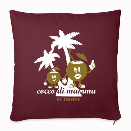 cocco di mamma tra le palme - Cuscino da divano 44 x 44 cm con riempimento