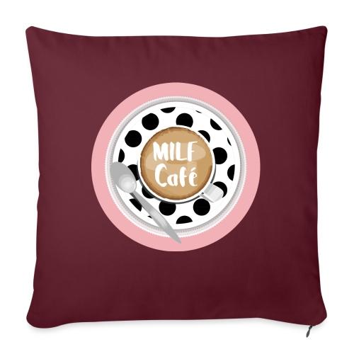 Milfcafé - MILF Logo Instagram Blogger Musthave - Sofakissen mit Füllung 44 x 44 cm