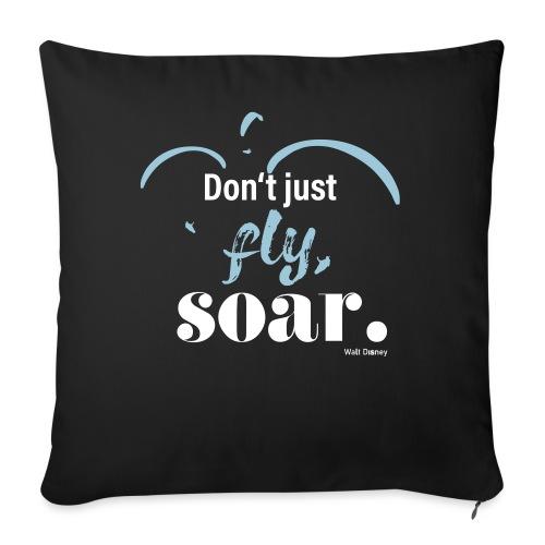 Don't just fly, soar. 🕊️ - Sofakissen mit Füllung 44 x 44 cm