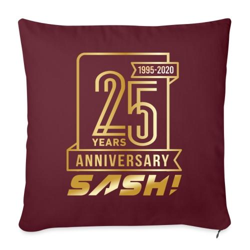 SASH! 25 Years Annyversary - Sofa pillow with filling 45cm x 45cm