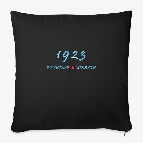 1923 - Cojín de sofá con relleno 44 x 44 cm