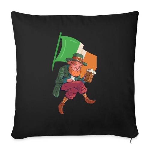 Irland / St. Patrick´s Day - Sofakissen mit Füllung 44 x 44 cm