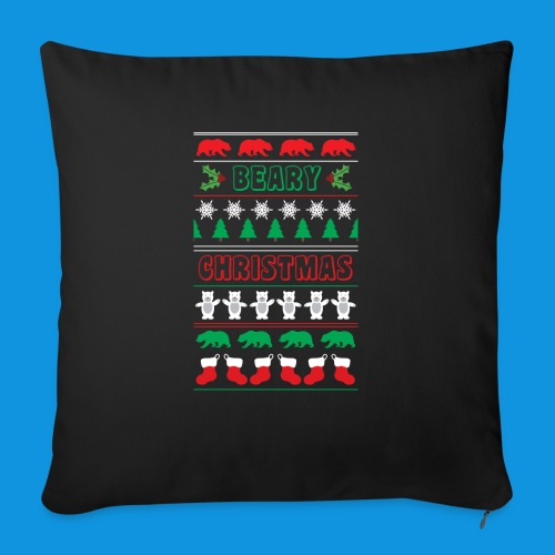 Beary Christmas.png - Sofa pillow with filling 45cm x 45cm