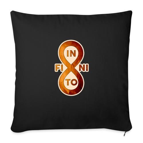 Infinito - Cojín de sofá con relleno 44 x 44 cm