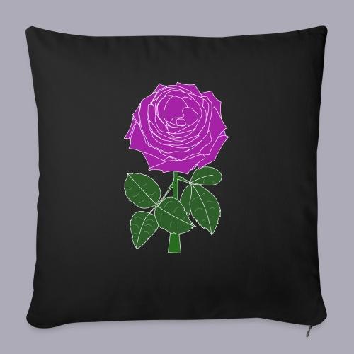 Landryn Design - Pink rose - Sofa pillow with filling 45cm x 45cm