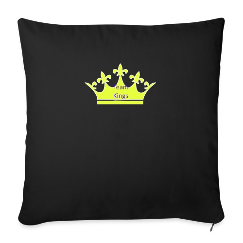 Team King Crown - Sofa pillow with filling 45cm x 45cm