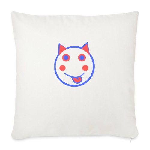 Alf Cat RWB | Alf Da Cat - Sofa pillow with filling 45cm x 45cm
