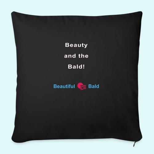 Beauty and the bald-w - Bankkussen met vulling 44 x 44 cm