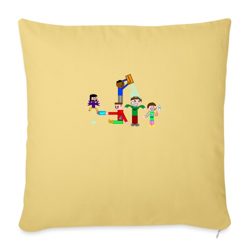Water Fight - Sofa pillow with filling 45cm x 45cm
