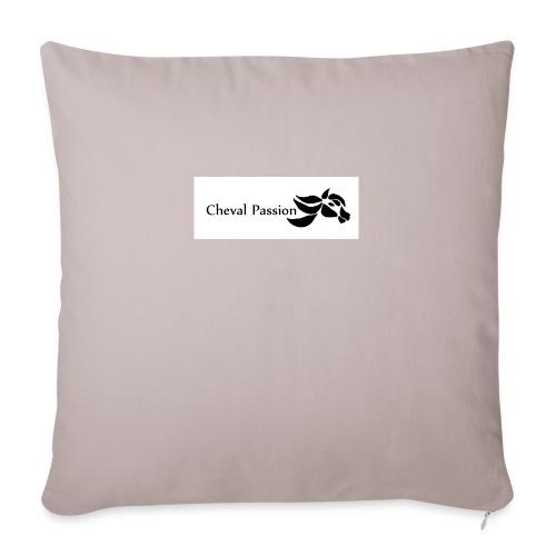 CHEVAL passion - Coussin et housse de 45 x 45 cm