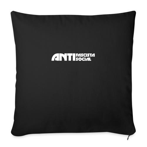 Antifaso_vit - Soffkudde med stoppning 44 x 44 cm