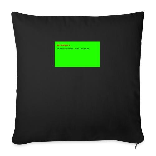 LLAMANATORS = SAVAGE - Sofa pillow with filling 45cm x 45cm