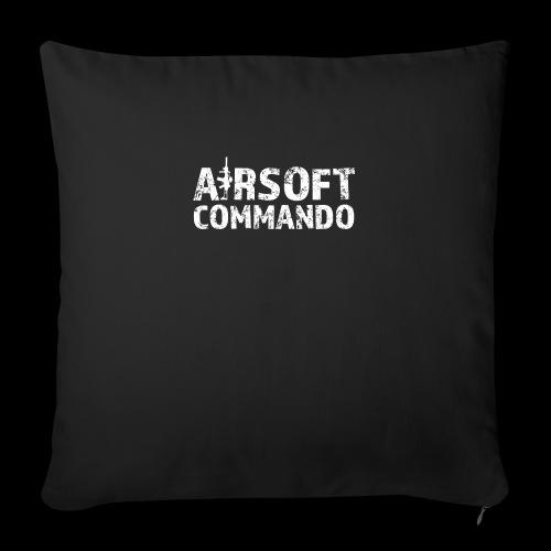 Airsoft Commando - Sofakissen mit Füllung 44 x 44 cm