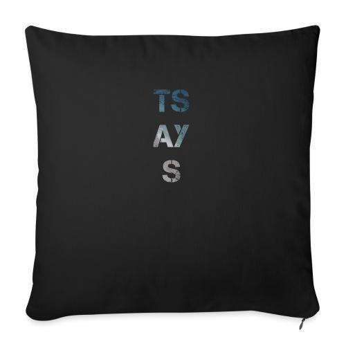 TSAYS - Cuscino da divano 44 x 44 cm con riempimento