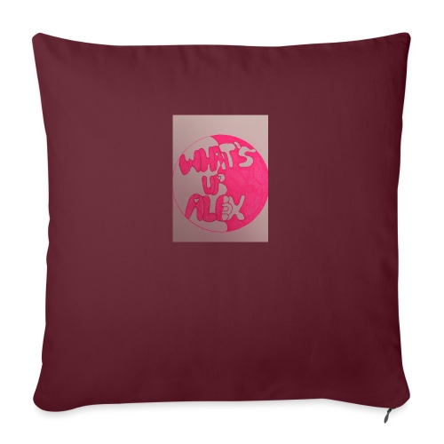 Alex bell - Sofa pillow with filling 45cm x 45cm