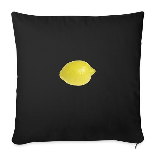 Zitrone - Sofakissen mit Füllung 44 x 44 cm