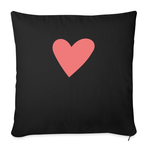 Popup Weddings Heart - Sofa pillow with filling 45cm x 45cm