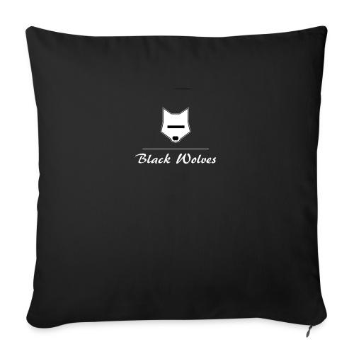 blackwolves Transperant - Coussin et housse de 45 x 45 cm