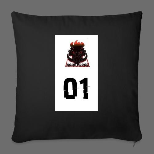Boar blood 01 - Poduszka na kanapę z wkładem 44 x 44 cm
