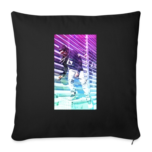 Neon HDR - Sofa pillow with filling 45cm x 45cm
