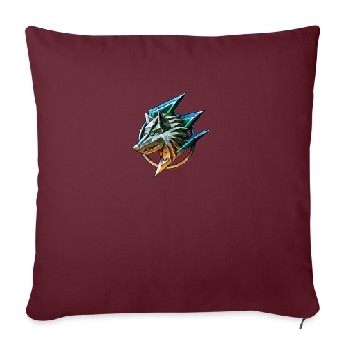 AZ GAMING WOLF - Sofa pillow with filling 45cm x 45cm