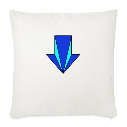 flecha - Cojín de sofá con relleno 44 x 44 cm